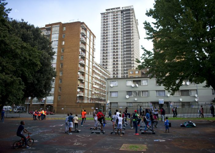 Safe and inclusive parks in the Johannesburg inner-city