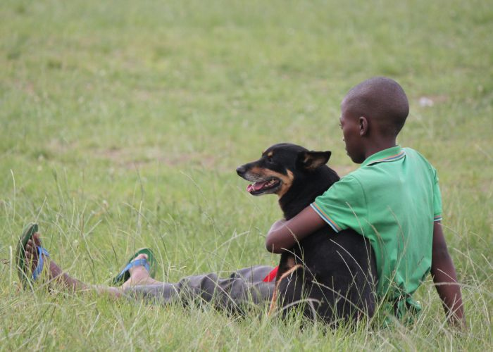 Funda Nenja, Township Dog Training Initiative