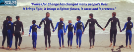 Surf therapy for communities affected by violence - Profile Image