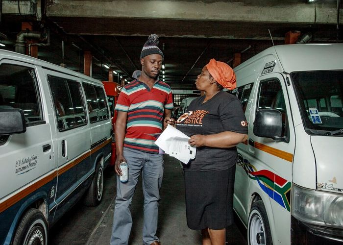 Safe Ride: Preventing Gender-Based Violence in Taxis