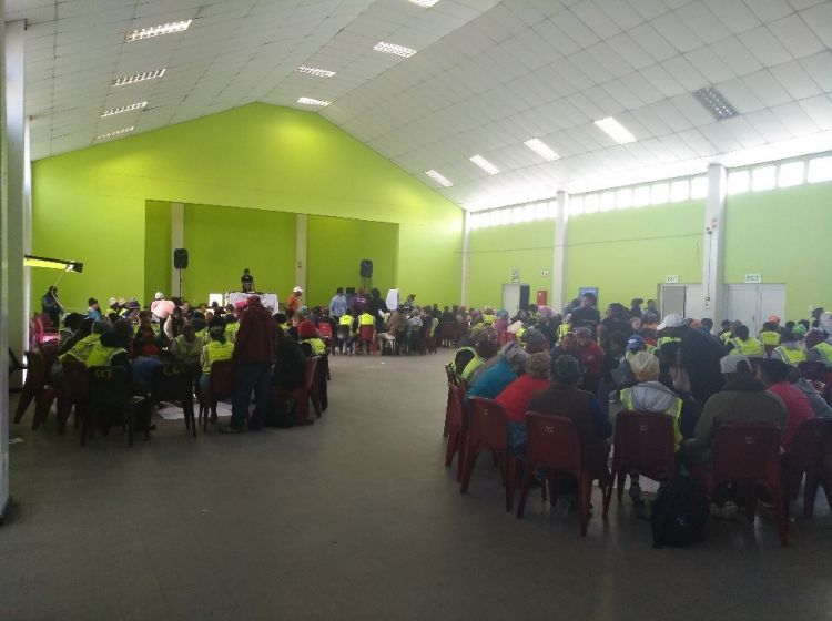 The Peacebuilding Team in Khayelitsha Site C aims to mitigate violence and resolve conflict. On 27 July 2017, the Peace Building Team facilitated a dialogue which enabled community members to identify and discuss challenges they face and help communities work out solutions for themselves.