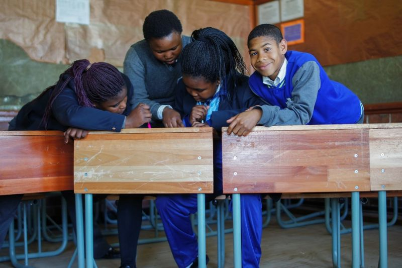 <p>Learners in Athlone work&nbsp;together to develop action plans to stop sexual violence in schools.</p>