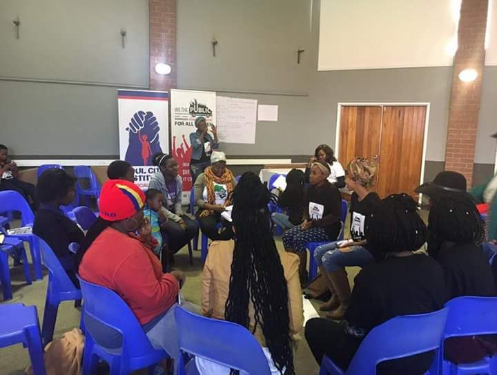 Dialogue with Soweto Women's Forum, One in Nine and Action Aid.
