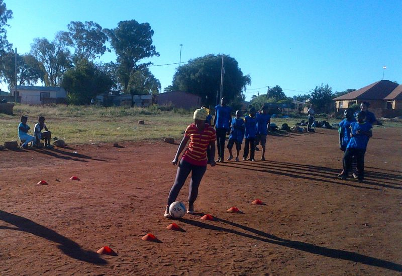 CWP Football4Youth Training Session, Randfontein